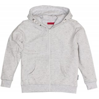 SALT AND PEPPER Mädchen - Sweatjacke / Jacke  Lucky Me Light Grey Glitzer Sterne