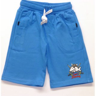 Salt and Pepper Jungen Bermuda Capt`n Sharky,ocean blue